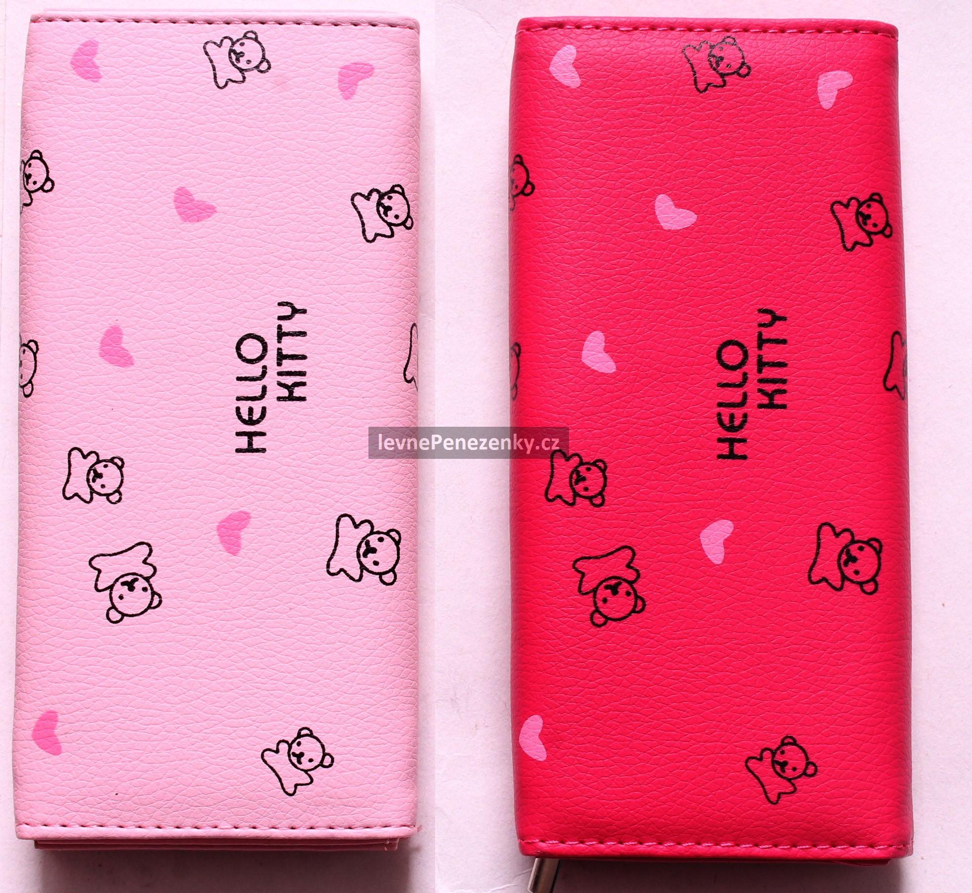 bfb784b0db Luxusná peňaženka Hello Kitty - 3 farby