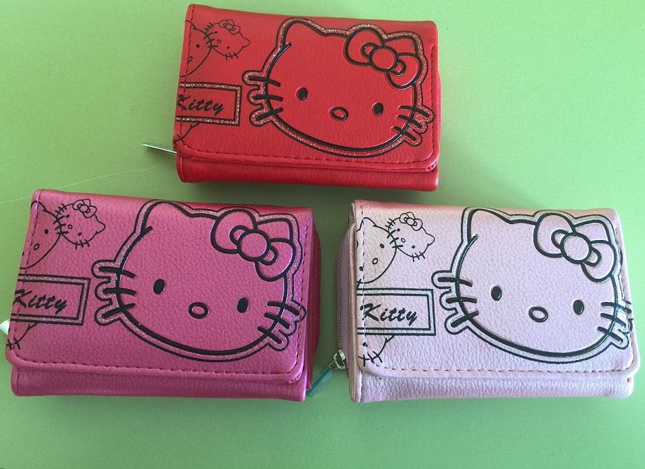 a071dc9e3b Červená peňaženka Hello Kitty - 3 farby