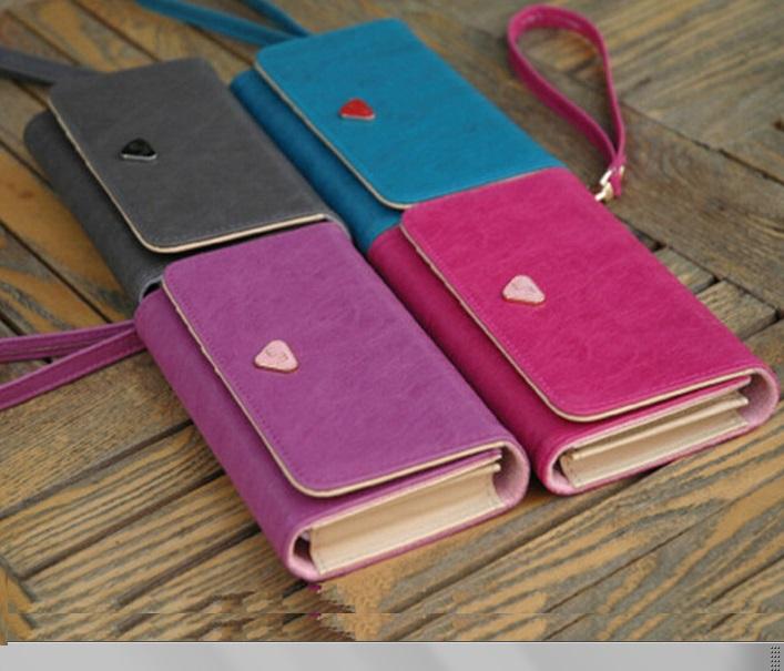 f64e492cea Peňaženka na mobil 6 farieb